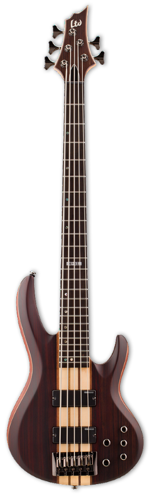 ESP LTD B-5E NATURAL SATIN